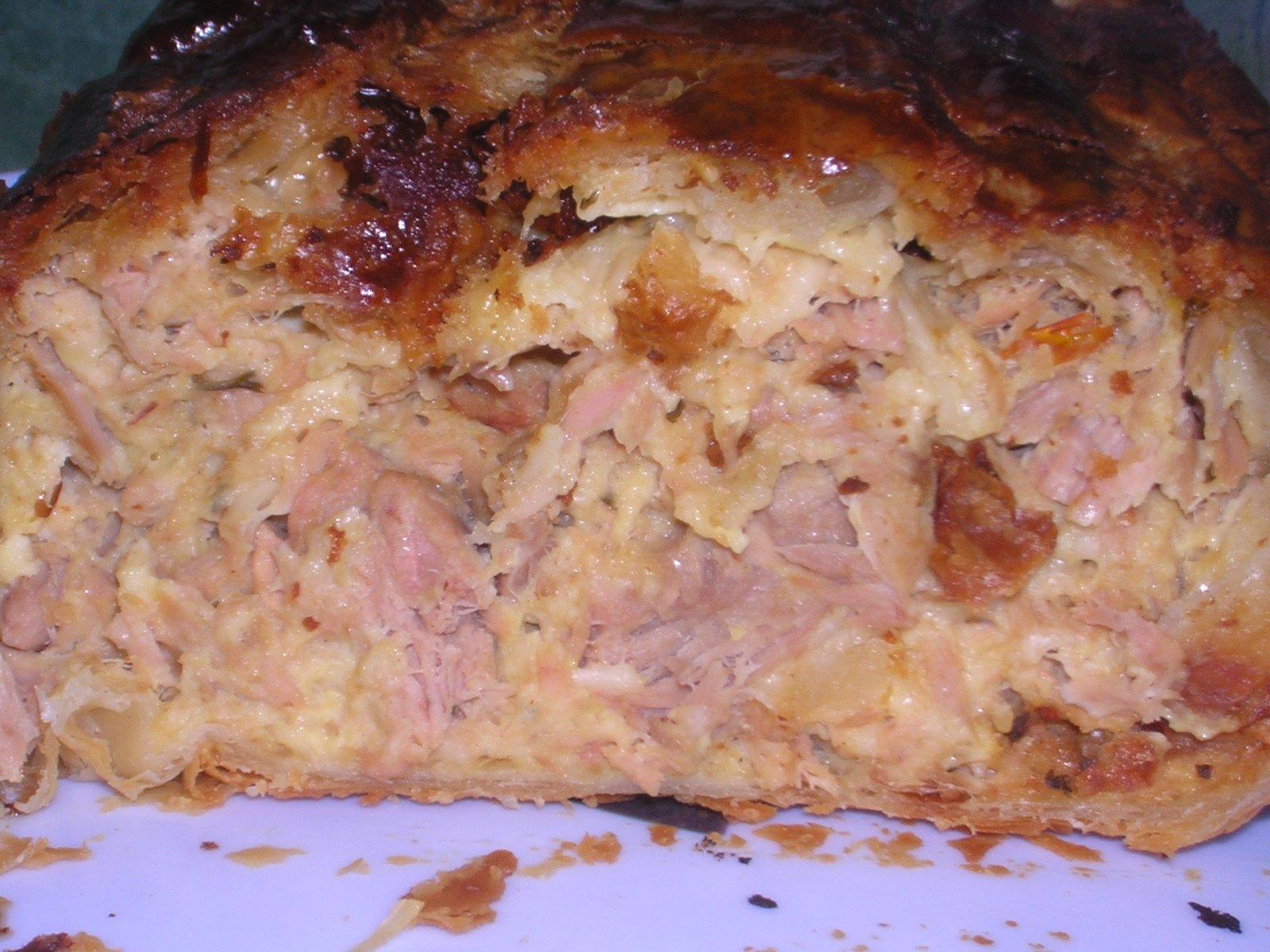 nath cuisine recettes rapides 187 cake en croute au thon